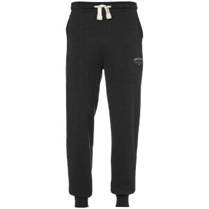 Crosshatch Men's Leeroy Sweatpants - Charcoal Marl