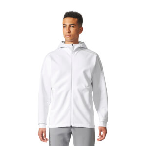 adidas Men's ZNE Duo Hoody - White