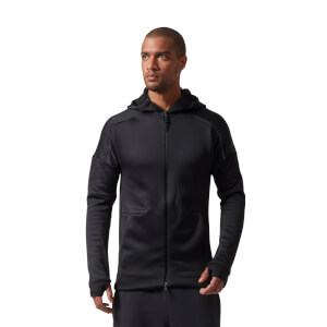 adidas Men's ZNE Heat Training Hoody - Black