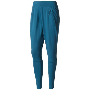 adidas Women's ZNE Tapered Training Pants - Blue