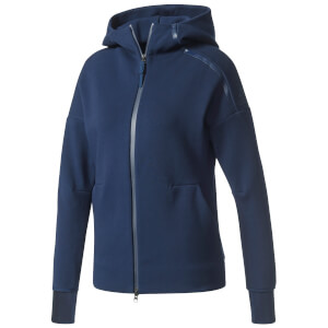 adidas Women's ZNE Training Hoody - Navy
