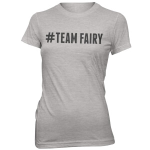Hashtag Team Fairy Women's Grey T-Shirt