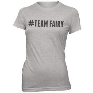 T-Shirt Femme Hashtag Team Fairy - Gris