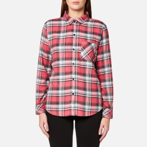 Rails Women's Milo Check Shirt - Bonfire/Ash