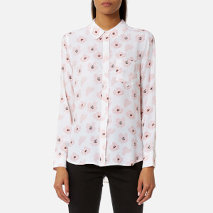 Rails Women's Kate Pink Poppies Shirt - White