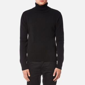 AMI Men's Turtleneck Jumper - Black