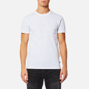 Superdry Men's Premium Goods Embossed T-Shirt - Optic White