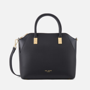 Ted Baker Women's Ashlee Small Leather Tote Bag - Black