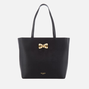 Ted Baker Women's Larah Looped Bow Shopper Tote Bag - Black