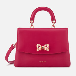 Ted Baker Women's Lauree Looped Bow Lady Bag - Deep Pink