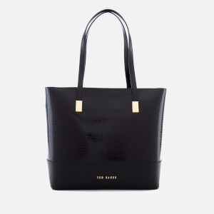 Ted Baker Women's Carenn Exotic Detail Large Shopper Bag - Black