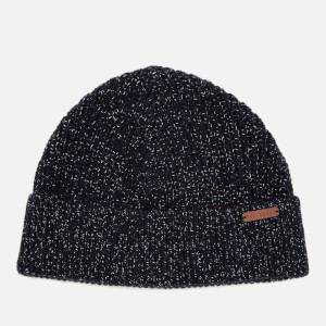 Ted Baker Men's Teahat Half Cardigan Rib Hat - Navy