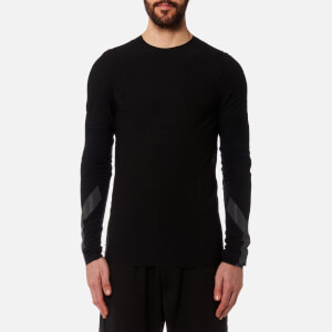 Y-3 Men's Merino Long Sleeve Top - Black