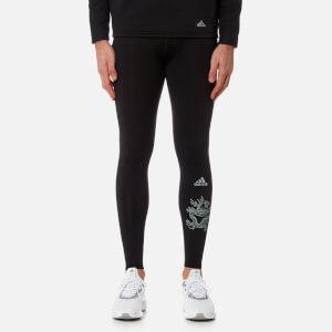 adidas by kolor Men's Tech Fit Tights - Black