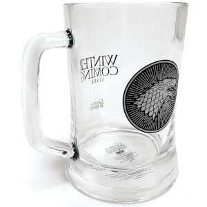 Game of Thrones Stark Glass Stein