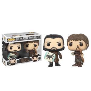 Lot de 2 Figurines Pop! Games of Thrones - Battle of the Bastards