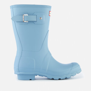 Hunter Women's Original Short Wellies - Pale Blue