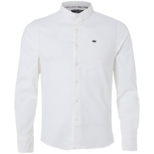 Brave Soul Men's Pompeii Shirt - White