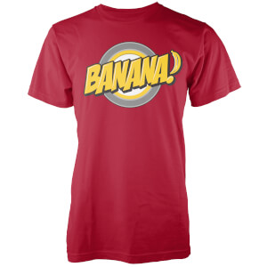 Banana Men's Red T-Shirt