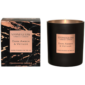 Stoneglow Luna Collection Dark Amber and Vetiver Tumbler