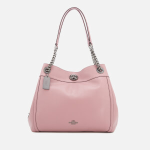 Coach Women's Turnlock Edie Tote Bag - Dusty Rose