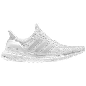 adidas Women's Ultra Boost Running Shoes - Crystal White