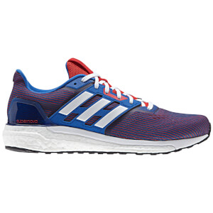 adidas Men's Supernova Running Shoes - Black/Blue