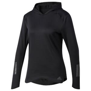 adidas Women's Response Climawarm Running Hoody - Black