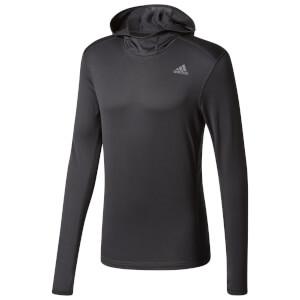 adidas Men's Response Climawarm Running Hoody - Black