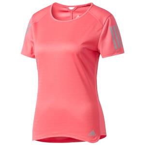 adidas Women's Response Running T-Shirt - Super Pink