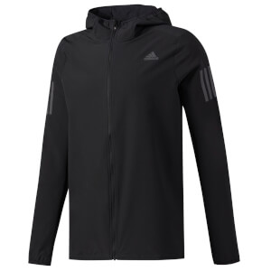 adidas Men's Response Climalite Running Hoody - Black