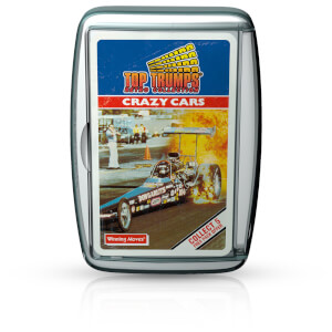 Top Trumps Card Game - Crazy Cars Retro Edition