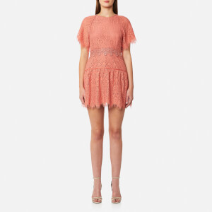 Foxiedox Women's Corallina Open Back Dress - Coral
