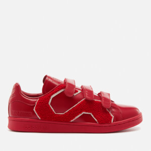 adidas by Raf Simons Men's Stan Smith Comfort Badge Sneakers - Power Red