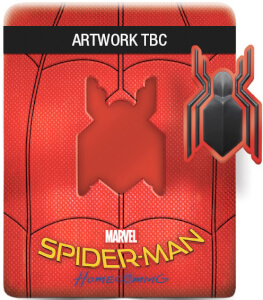 Spider-Man Homecoming 3D (Includes 2D Version) - Limited Edition Steelbook + Resin Magnet + Comic Book