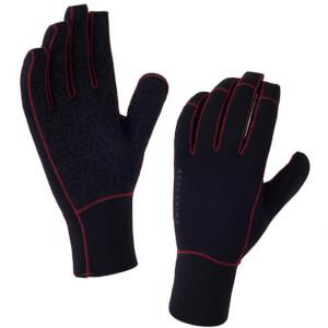 Sealskinz Neoprene Gloves - Black/Red