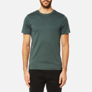 Michael Kors Men's Liquid Jersey Short Sleeve Crew Neck T-Shirt - Cedar Green