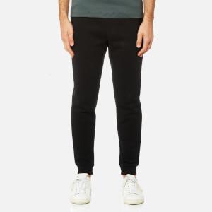 Michael Kors Men's Fleece Logo Cuffed Sweatpants - Black