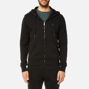 Michael Kors Men's Fleece Logo Hoody - Black