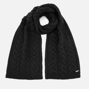 Michael Kors Men's Links Cable Muffler - Black