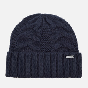Michael Kors Men's Link Cable Cuff Hat - Midnight