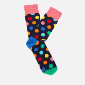 Happy Socks Mens Big Dot Socks - Multi - UK 7.5-11.5