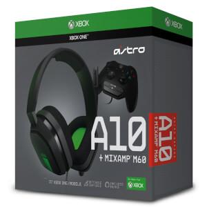 Casque de Gaming ASTRO A10 + Mix Amp M60 (Xbox One)