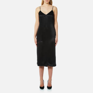 Versus Versace Women's V-Neck Slip Dress - Black
