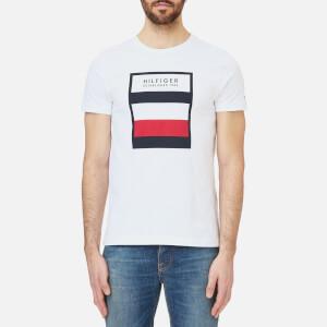 Tommy Hilfiger Men's Large Logo T-Shirt - Bright White