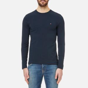 Tommy Hilfiger Men's Stretch Long Sleeve T-Shirt - Sky Captain