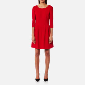 BOSS Orange Women's Aloky Dress - Medium Red