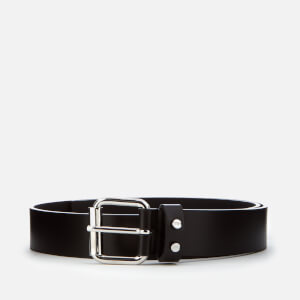 McQ Alexander McQueen Men's Roller Buckle Tip Belt - Black