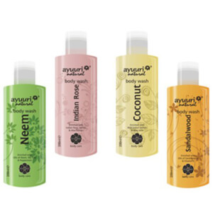 Ayuuri 4-Scents Body Wash