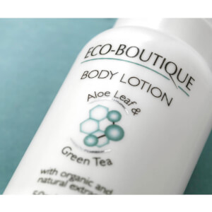 Eco Boutique Body Lotion with Aloe Leaf and Green Tea